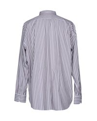 Canali - Purple Shirt for Men - Lyst