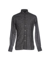 Lanvin Black Shirt for men