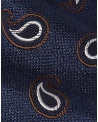 Cravatta di Beams Plus in Blue da Uomo