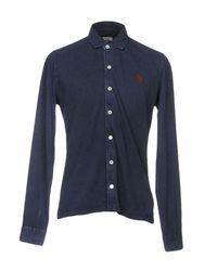U.S. POLO ASSN. Blue Shirt for men