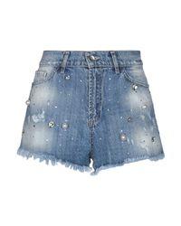 Relish Blue Denim Shorts