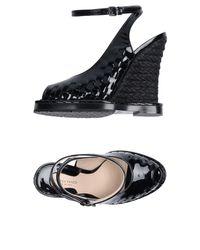 Sandales Bottega Veneta en coloris Black