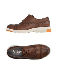 Anthony Miles Brown Lace-up Shoe for men