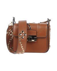 Lanvin Brown Cross-body Bag