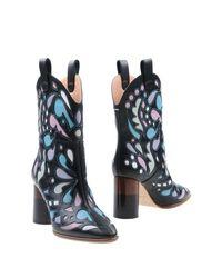 Maison Margiela Black Ankle Boots