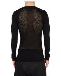 Gareth Pugh - Black Sweater for Men - Lyst