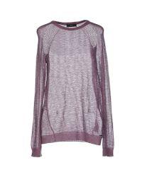 DIESEL | Purple Sweater | Lyst