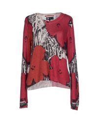 Pepe Jeans - Red Sweater - Lyst