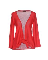 Almeria - Red Cardigan - Lyst