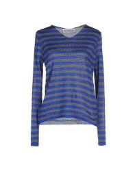 Comme des Garçons   Blue Sweater   Lyst