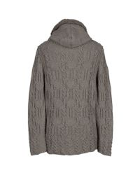 Paolo Pecora - Gray Cardigan for Men - Lyst