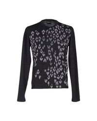 Just Cavalli   Gray Sweater for Men   Lyst