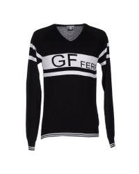 Gianfranco Ferré Black Jumper for men