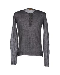 CoSTUME NATIONAL | Gray Sweater for Men | Lyst