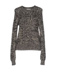 Étoile Isabel Marant Gray Knitted Sweater