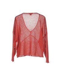 Helmut Lang Pink Sweater