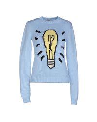 Au Jour Le Jour - Blue Sweater - Lyst