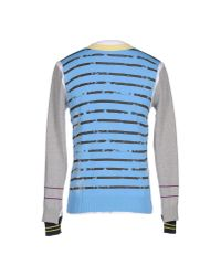 John Galliano Gray Sweater for men