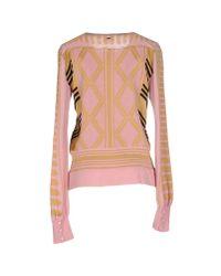 Just Cavalli - Pink Sweater - Lyst