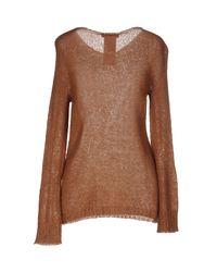 Liu Jo - Brown Sweater - Lyst