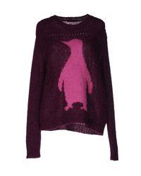 Pinko | Purple Sweater | Lyst