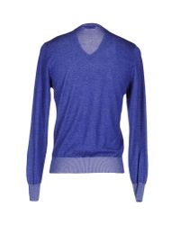 Heritage - Blue Jumper for Men - Lyst