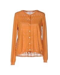 Jucca - Orange Cardigan - Lyst