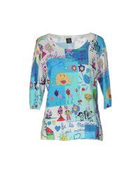 Lafty Lie Blue Sweater