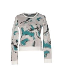 Philosophy di Alberta Ferretti Gray Jumper