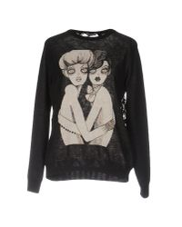 Marziali - Black Sweater - Lyst