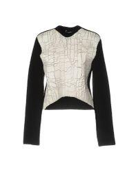 Balenciaga White Sweater