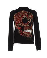 Philipp Plein | Black Sweater for Men | Lyst