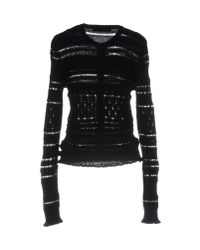 Love Moschino - Black Cardigan - Lyst