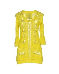 Philipp Plein Yellow Sweater