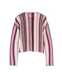 Pinko - Pink Sweater - Lyst