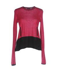 Armani Jeans | Pink Sweater | Lyst