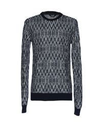 Solid - Blue Sweater for Men - Lyst