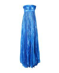 Vestito lungo di DSquared² in Blue