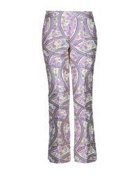 Pantalones Giamba de color Multicolor
