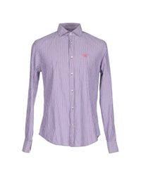 Henry Cotton's Pink Shirt for men