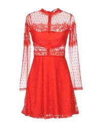 Oh My Love Red Kurzes Kleid