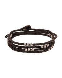 M. Cohen - Brown Bracelet for Men - Lyst