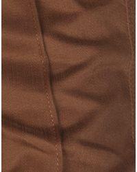 Class Roberto Cavalli Brown Casual Trouser