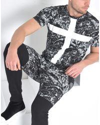 Pierre Darre' Black T-shirt for men