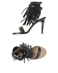 By Malene Birger - Black Sandals - Lyst