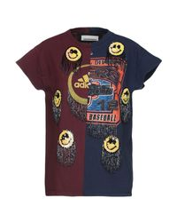T-shirt di NIGHTMARKET.IT in Blue