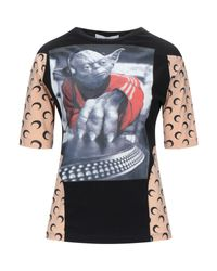 T-shirt di MARINE SERRE in Black