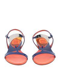 Dior Blue Sandals