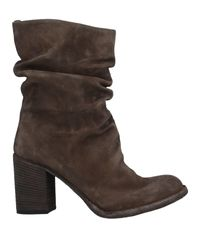 Officine Creative Brown Ankle Boots