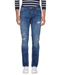 Guess Blue Denim Pants for men